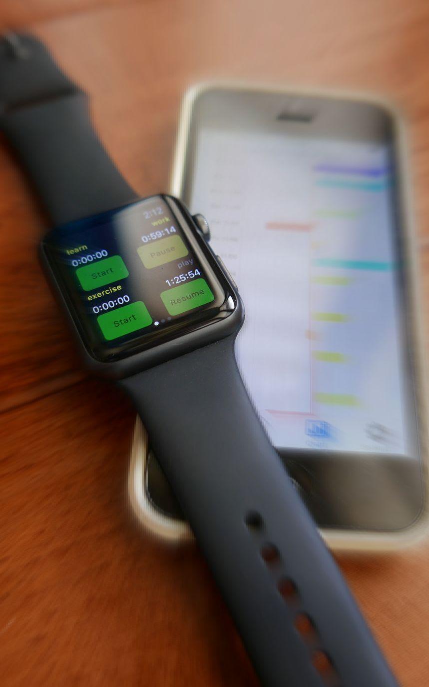 Self Improvement App for Apple Watch: TimeOfYourLife