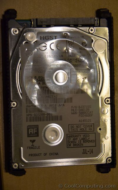hp 15 notebook pc how to replace hard drive