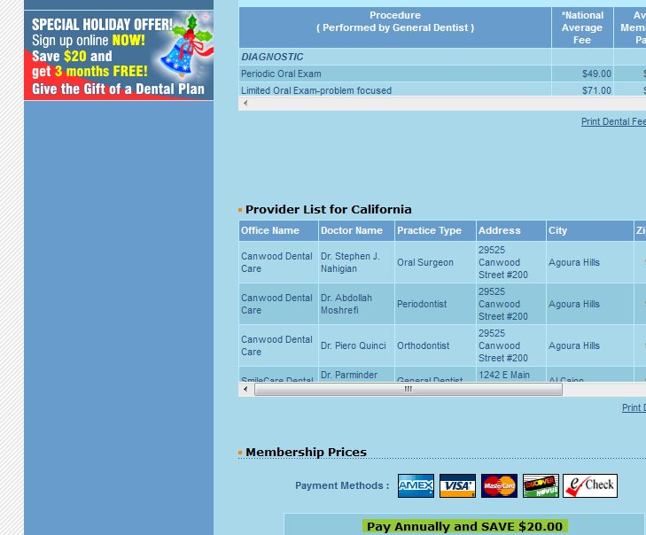 Sicbatogal dental insurance coupon codes dentalplans for Solstice plus plan one