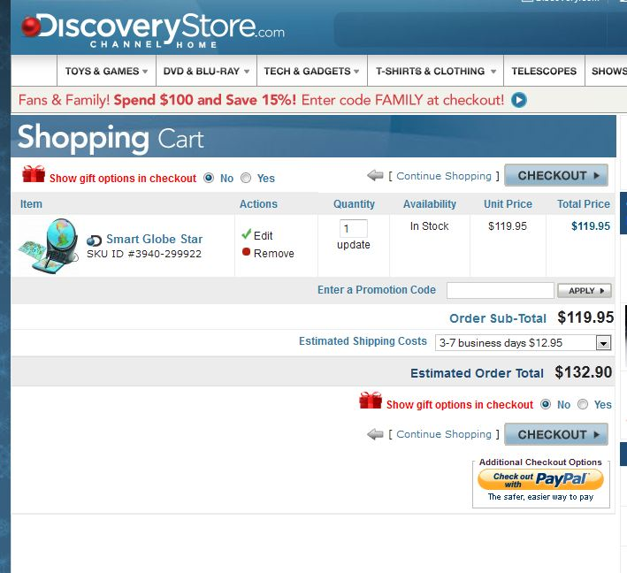 discovery store