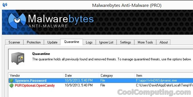 malwarebytes windows 10 crash