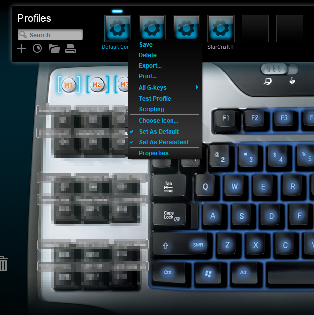 Fix for Logitech G Keys Not working in Windows 10 & Logitech Gaming