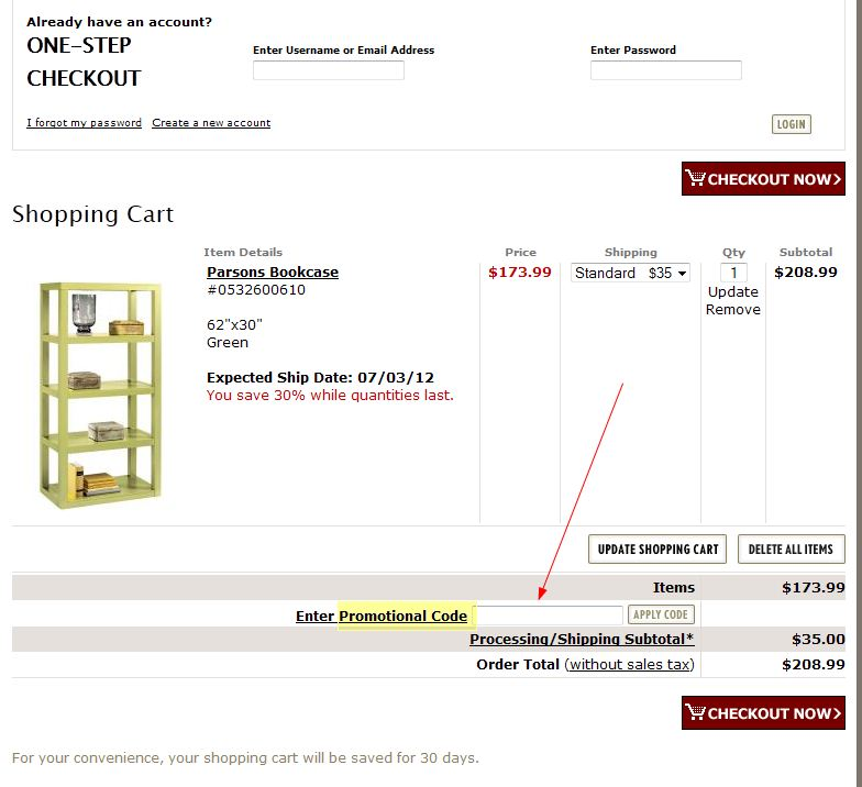 Coupons For Home Decorators: Coupon Instructions: How & Where To Enter Promo Codes For