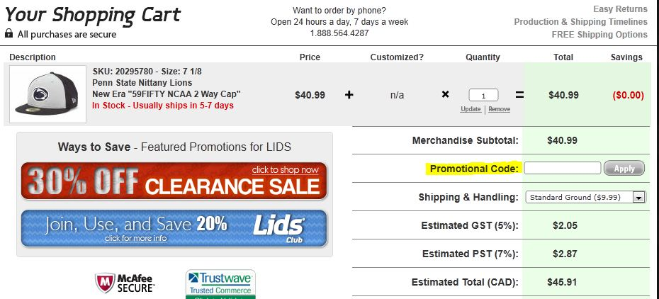 Lids com coupon code