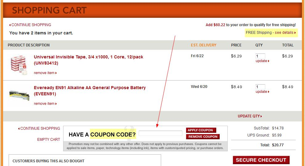 Office  Supply coupon promo code printable instructions