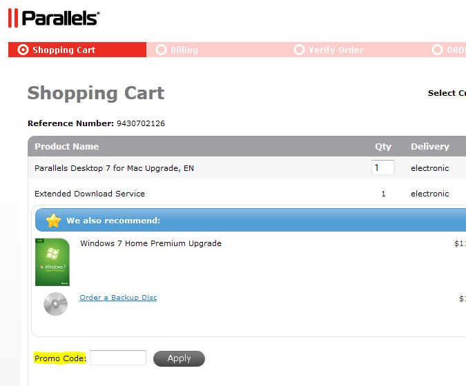Parallels.com coupon promo code printable instructions