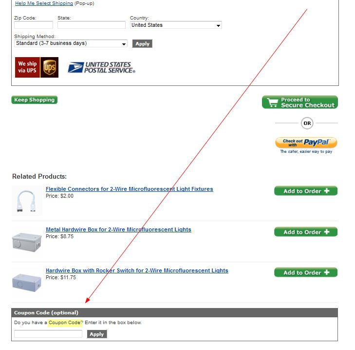 Coupon Instructions How Where To Enter Promo Codes For