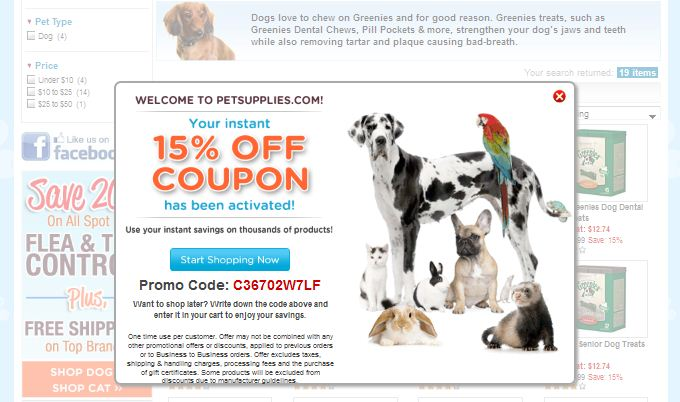The most recent Pet Care & Supplies offer is 'Up to 60% Off Star Wars Pet Material' from Petco. If you're looking for Pet Care & Supplies coupons, then you've come to the right place. Below, you'll find a list of popular stores that sell all things related to Pet Care & Supplies.