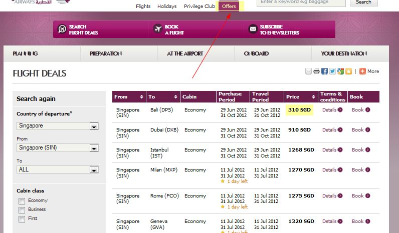 Qatar Airways Promo Codes & Holiday Coupons for December, Save with 2 active Qatar Airways promo codes, coupons, and free shipping deals. 🔥 Today's Top Deal: Take 10% Off On Direct Flights From Gothenburg To Doha Where You Can Connect To Bangkok, Colombo, Singapore & Many More Destinations.