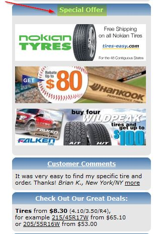 Details: Use these TireBuyer coupon codes to avoid the lines and save. Choose from brands like Michelin, Bridgestone, BF Goodrich, Firestone and more.