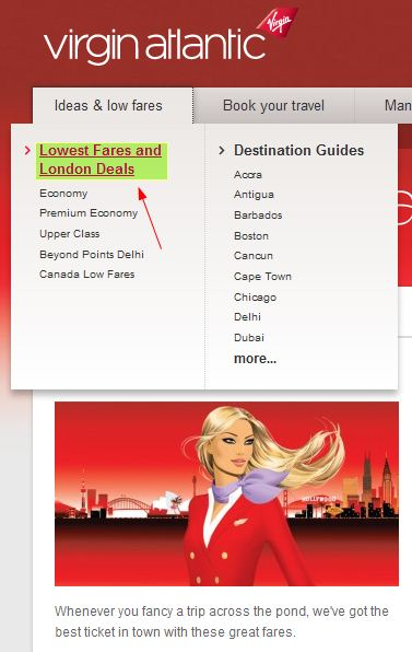 How to use a Virgin Atlantic Airways coupon The best way to save money with Virgin Atlantic Airways is to plan your trip around their special offers, which are clearly listed on the website. You can get some very good discounts that way.