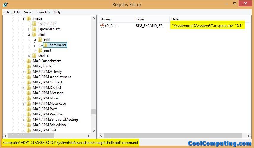 how to change default photo editor windows 10