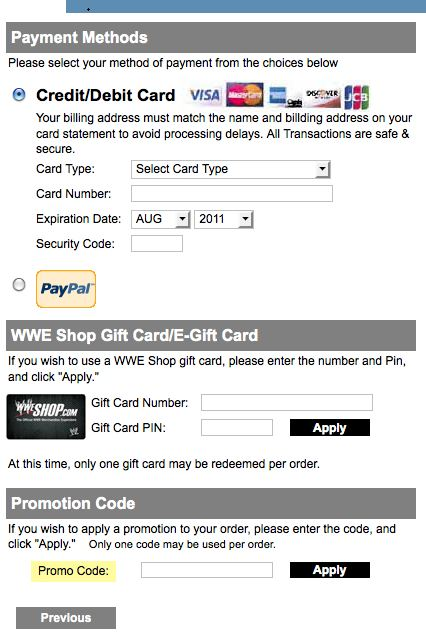 Wwe coupon code